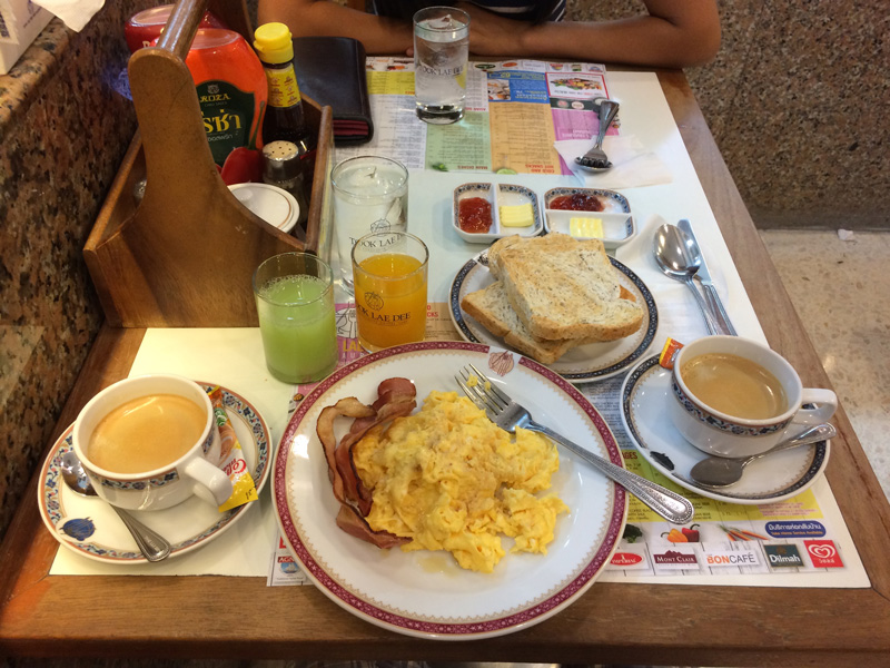 Breakfast At Took Lae Dee Restaurant FoodLand Thailand